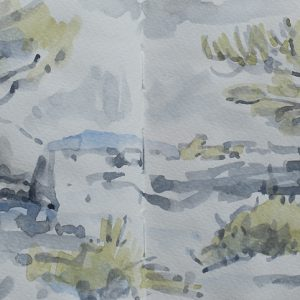 Sketchbook Drawing - Watercolour