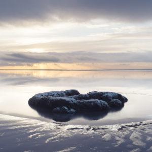 Frozen Island - Photograph