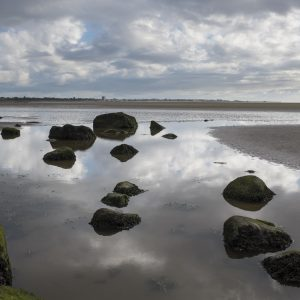 Rock Pool as a Mirror - Photograph