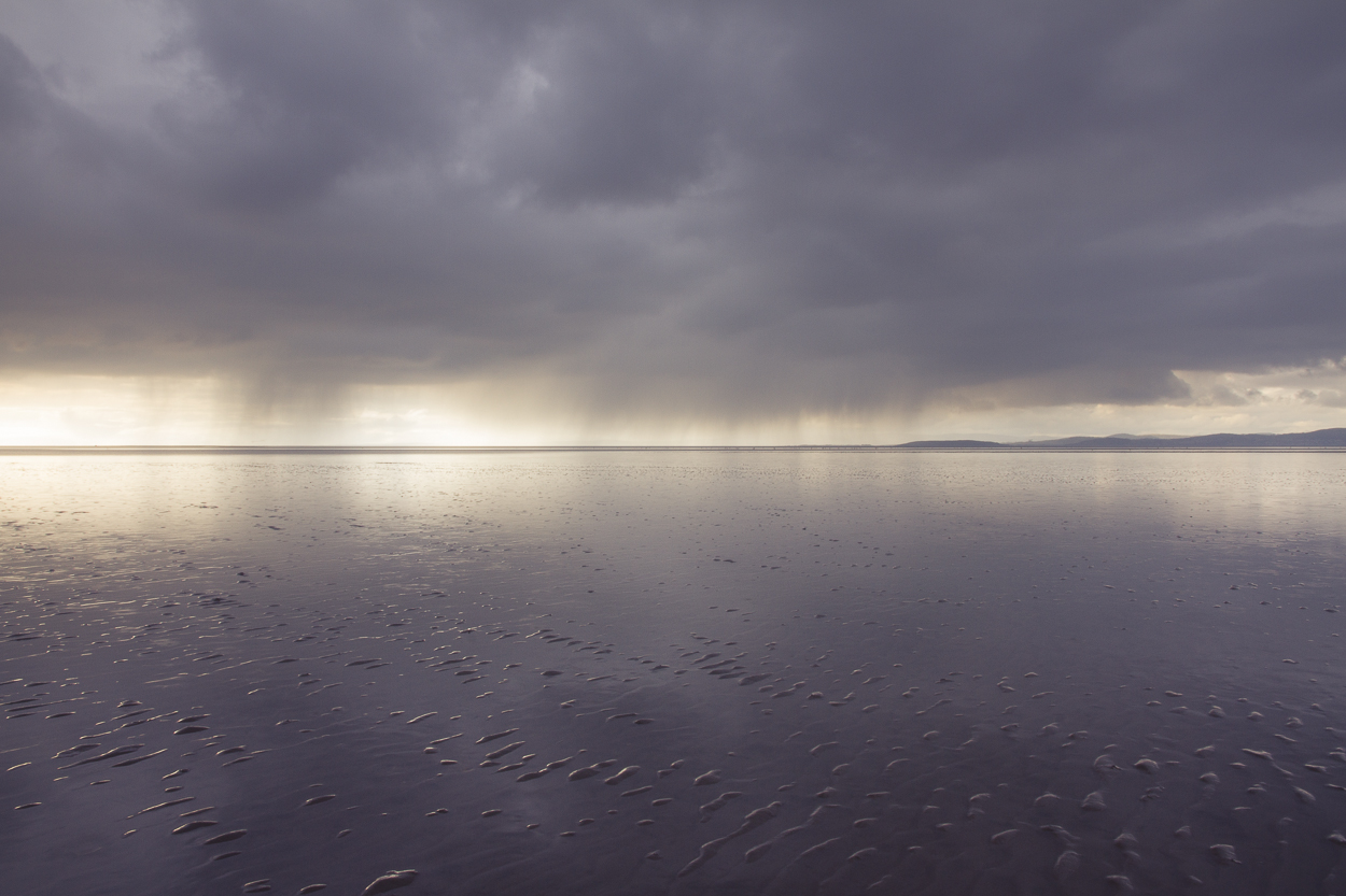 Here Comes the Rain - Photograph