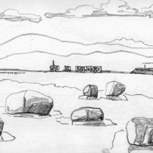 Sketchbook Drawing - Pencil
