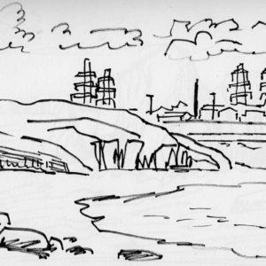 Sketchbook Drawing - Felt Tip Pen