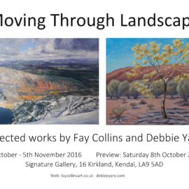 Moving Through Landscape – An Exhibition