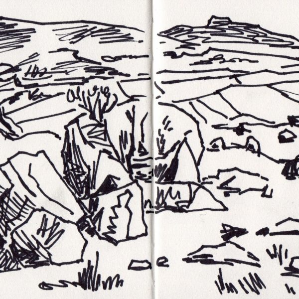 Sketchbook Drawing - Marker Pen