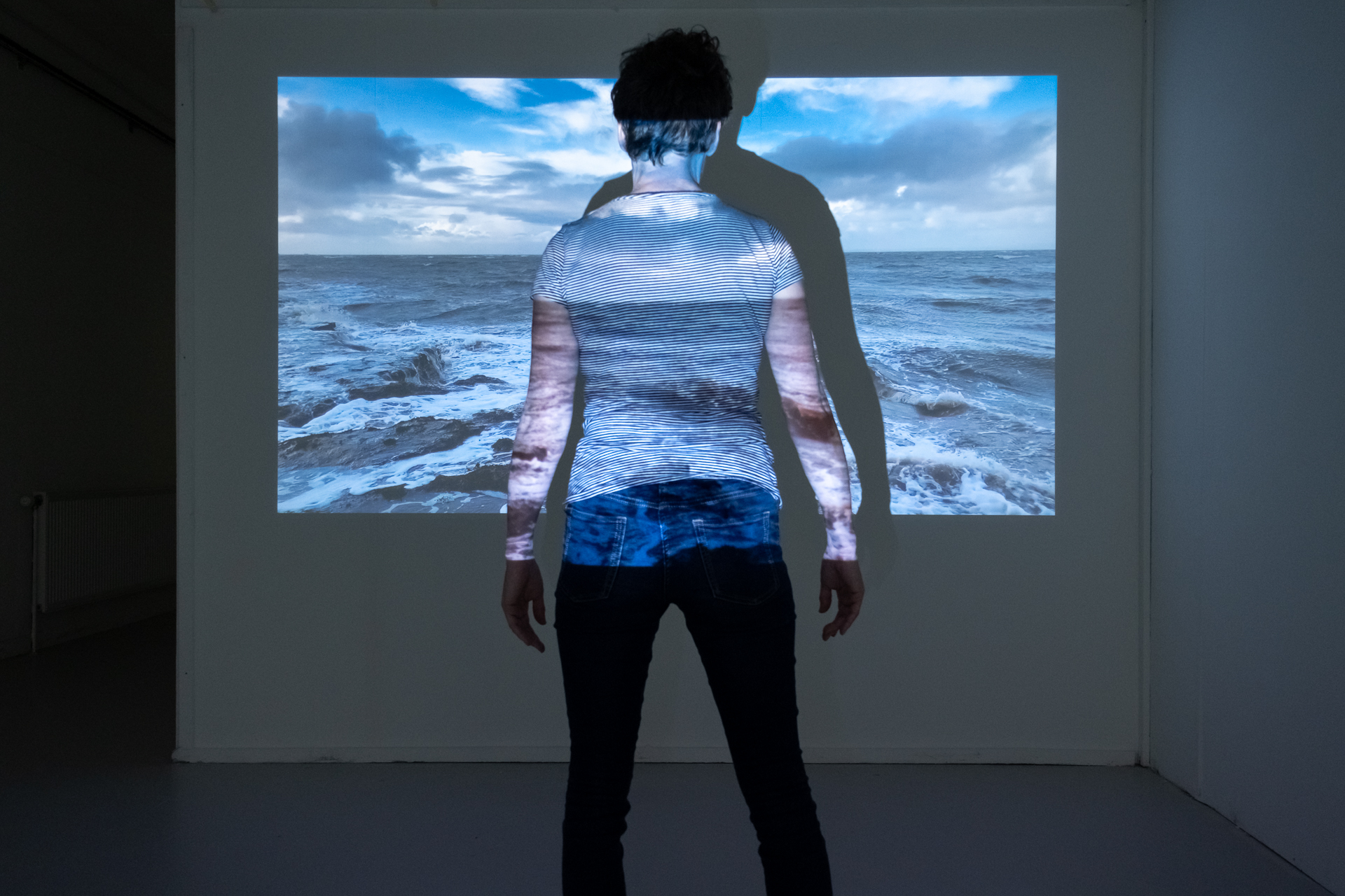 Crossings, Installation view